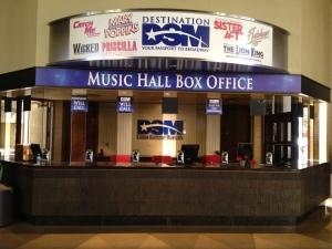 Music Hall Box Office