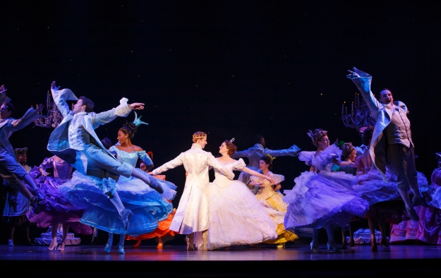 The Cast of the National Tour of Rodgers + Hammerstein's Cinderella. Photo © Carol Rosegg.