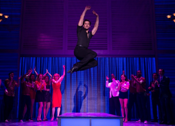 Samuel Pergande (Johnny) and the company of the North American tour of DIRTY DANCING – THE CLASSIC STORY ON STAGE. (Photo by Matthew Murphy)