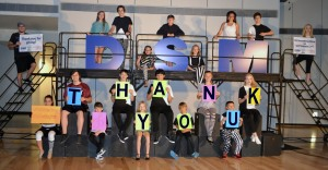 DSM Academy Students Say Thank You!