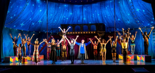 The Cast of the National Touring Production of PIPPIN. Credit Terry Shapiro