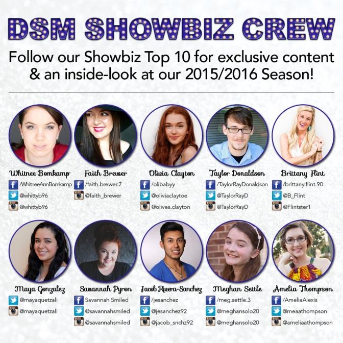 DSM SHOWBIZ CREW